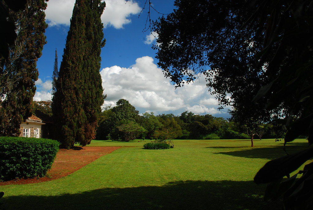 Backyard of the Karen Blixen Museum