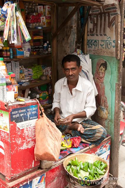 Pan Vendor on the Streets of Old Dhaka - Bangladesh