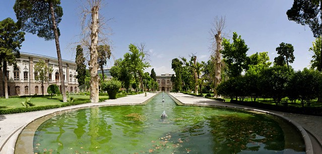 Golestan Palace by CC user parmida on Flickr