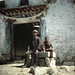 Tibetan man and son