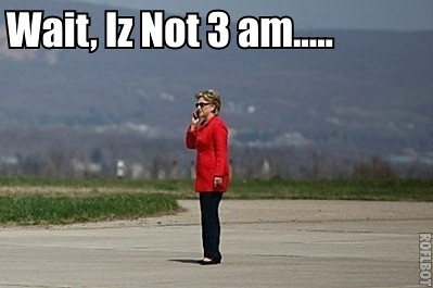 Hill Gets Calls At All Hours....