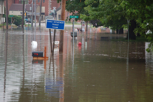 Flooding in Coralville, IA | by U.S. Geological Survey