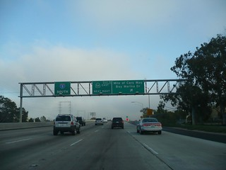 National City Mile Of Cars >> Interstate 5 San Diego Freeway Southbound In National City
