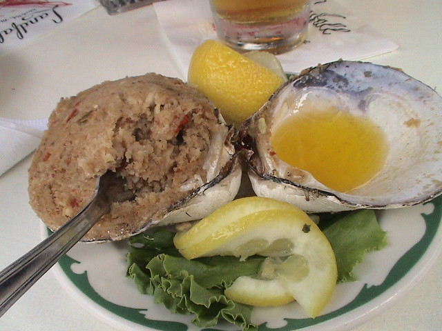 Stuffed Quahog | Flickr - Photo Sharing!