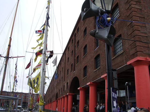 Header of Albert Dock