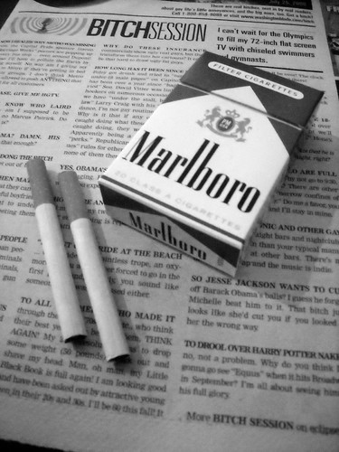 Do The Tabloid Press Have An Influence Over Smoking Habits?