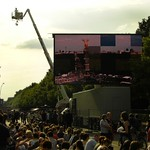 Big Crowd for Barack Obama - Berlin, Germany