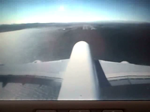 Tailcam Video: Airbus A380 Landing at SFO
