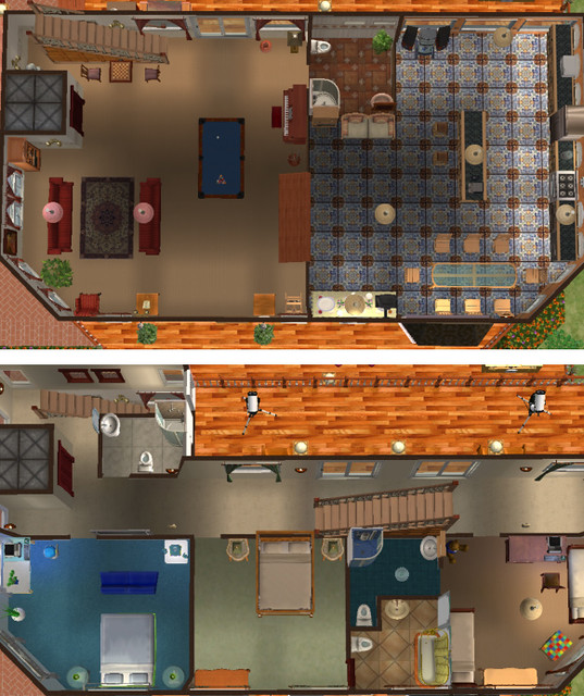 Sims 2 Homes Floor Plans Etc Flickr Photo Sharing