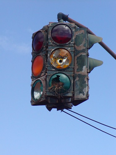 mystery traffic light