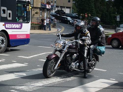 Harley Davidson Motorbike Rider