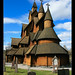 Small photo of Heddal stave church II