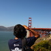 Small photo of Abhi and the Big Red Bridge