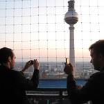 aliman and danbri sampling the berlin skyline