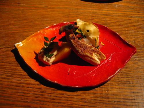 Autumn kaiseki dish
