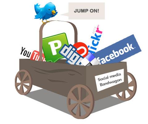 social media bandwagon, Matt Hamm, CC-BY-NC