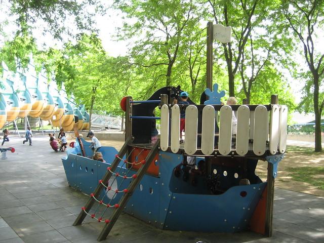 children's playground in Paris