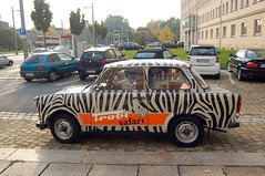 Side of our Trabant