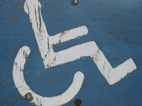 I like handicap signs a lot