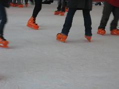Rotterdam ice-skaters