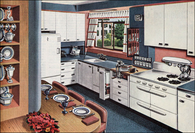 1946 American Gas Assn - Buffet Kitchen