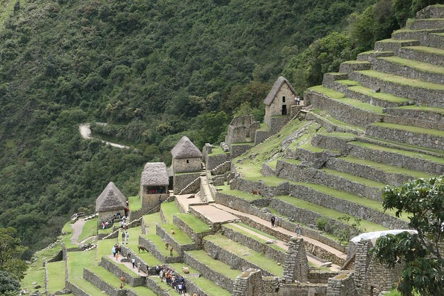 Machu picchu view of the terrace flickr photo sharing for What is the terrace