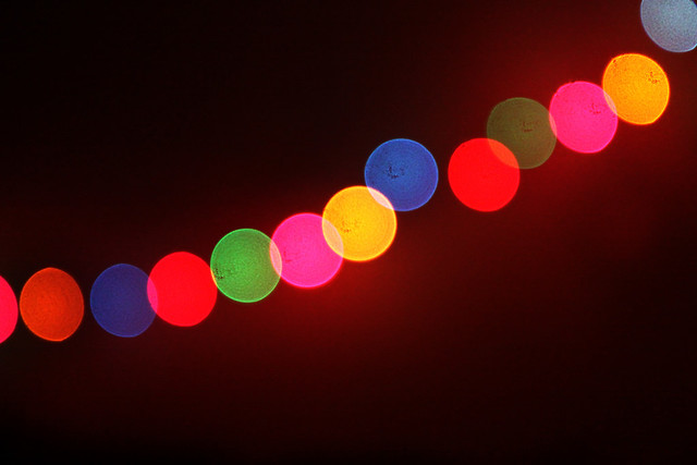 Christmas Light Orbs | Flickr - Photo Sharing!