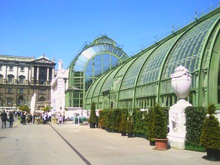 Glass house at Hofburg Vienna