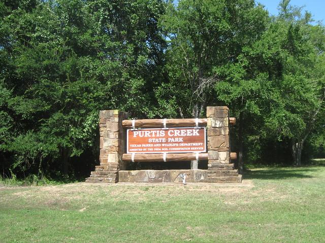 Purtis Creek State Park Entrance, Eustace, Texas | Flickr ...