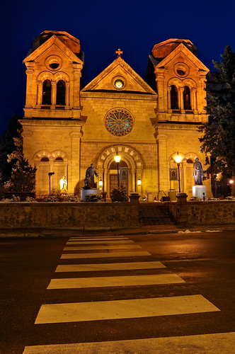newmexico santafe building church stone architecture nikon catholic cathedral basilica religion gothic adobe nm saintfranciscathedral romanesque stucture hdr revival d300 mywinners aplusphoto cathedralbasilicaofstfrancisofassisi life~asiseeit