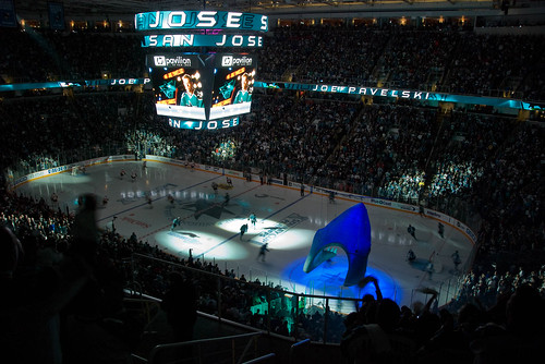 Game 7, Round 1, Sharks vs Flames 2008