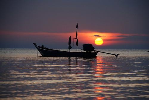 travel sunset thailand nikon asia southeastasia tao kohtao longtailboat nikor d80 nikond80 18135mmf3556g