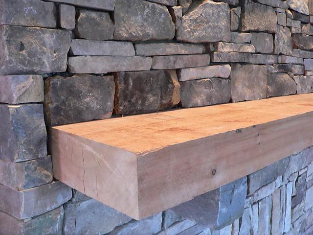 Rough Cut Cedar Mantle Flickr Photo Sharing