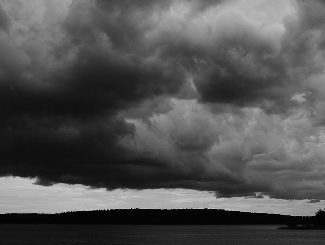 Storm Clouds Over Skiatook Lake