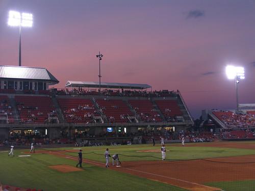 baseball favorites sunsets northcarolina 2008 minorleaguebaseball carolinamudcats