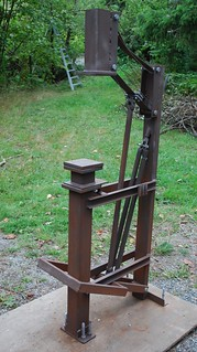 ABANA style treadle hammer