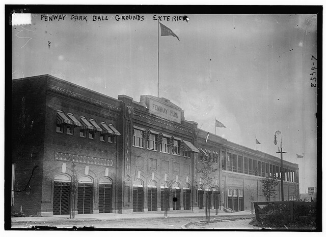 Fenway Park ball grounds exterior (LOC)