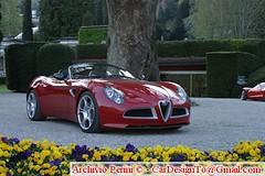 family car(0.0), automobile(1.0), alfa romeo(1.0), vehicle(1.0), automotive design(1.0), alfa romeo 8c(1.0), alfa romeo 8c competizione(1.0), land vehicle(1.0), luxury vehicle(1.0), supercar(1.0), sports car(1.0),