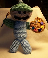 The Amigurumi Dude - Le Artiste!