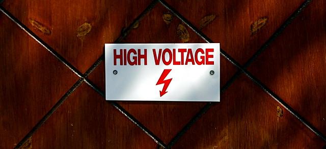 Danger : High voltage