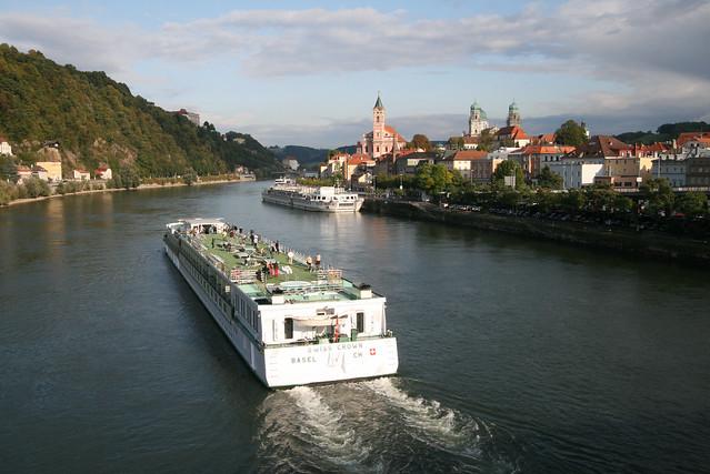 Bustling Passau