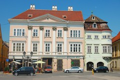 Classicist Dwelling-House and the House with Iron Trunk, Győr