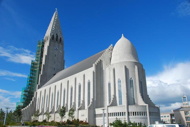 雷克雅维克-冰岛 哈格陵姆教堂