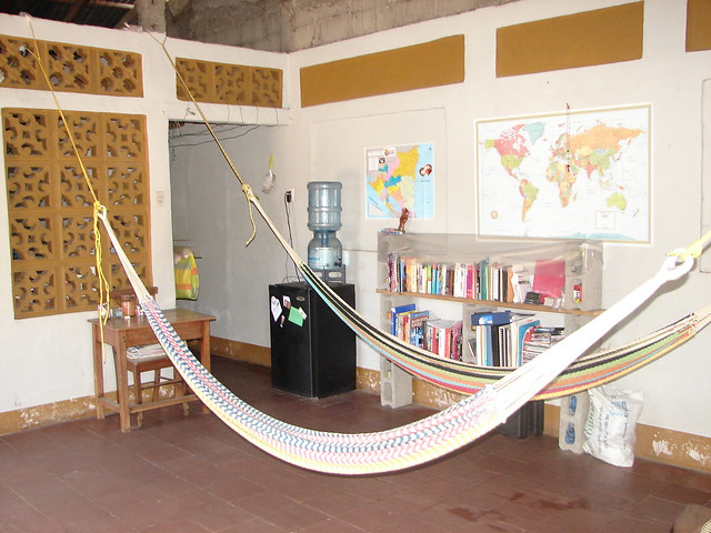Living room hammocks flickr photo sharing for Living room hammock
