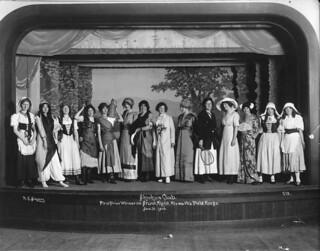 Skookum Club stunt night at Hiawatha Fieldhouse, 1913