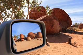 Parting view: Devil's Marbles
