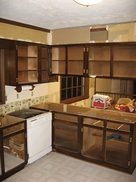How to Strip and Refinish Your Kitchen Cabinets - Yahoo! Voices