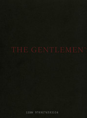 The Gentlemen's Gentlemen Brian Getnick & Noe Kidder ISBN 9789076593104 D/2008/8545/2 copyright 2008 croxhapox,B-Gent copyright Brian Getnick & Noe Kidder  back