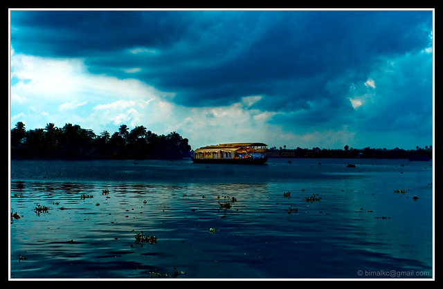 Alappuzha - Rain is coming