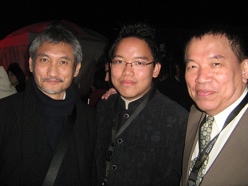 With Tsui Hark, Dubai Film Fest 2008 Closing Ceremony